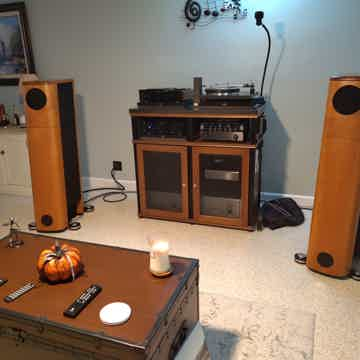 Audio Physics Kronos Full Range Speakers Simply Outstan...