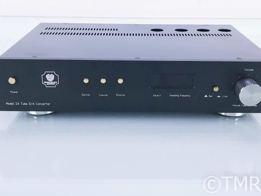 Monarchy Audio Model 24 Stereo Tube DAC / Preamplifier; NM24; D/A Converter (18258)