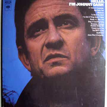 Johnny Cash - Hello, I'm Johnny Cash - 1970 Pitman Pres...