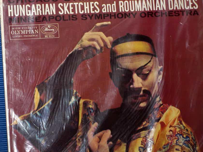 "BARTOK / Dorati  - ""Suite From The Miraculous Mandarin"" -  Mercury Living Presence 1958 Mono SEALED!"