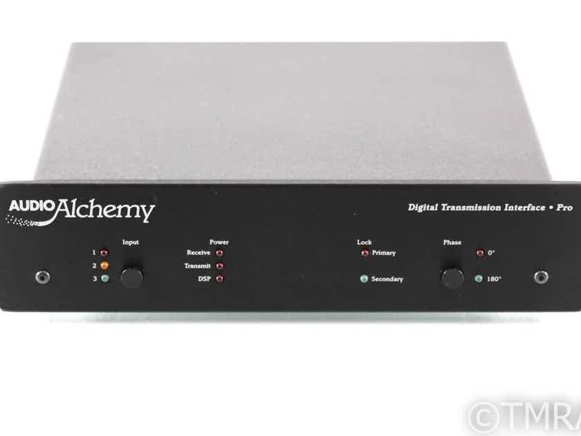 Audio Alchemy Digital Transmission Interface Pro Jitter Filter; AS-IS(No Output) (28111)