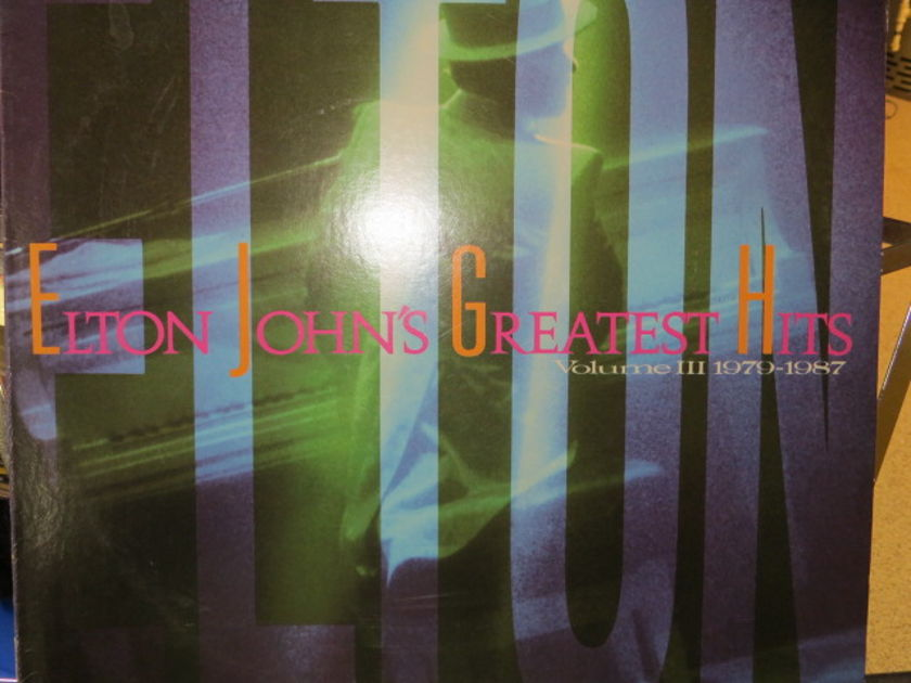 ELTON JOHN - GREATEST HITS VOL 3    1979 - 1987