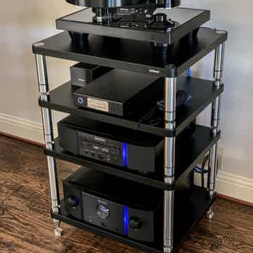 Brinkmann Audio Bardo Turntable, HRS isolation base, an...