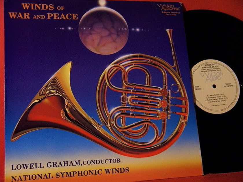"""National Symphonic Winds WILSON AUDIO """"WINDS OF WAR AND PEACE"""