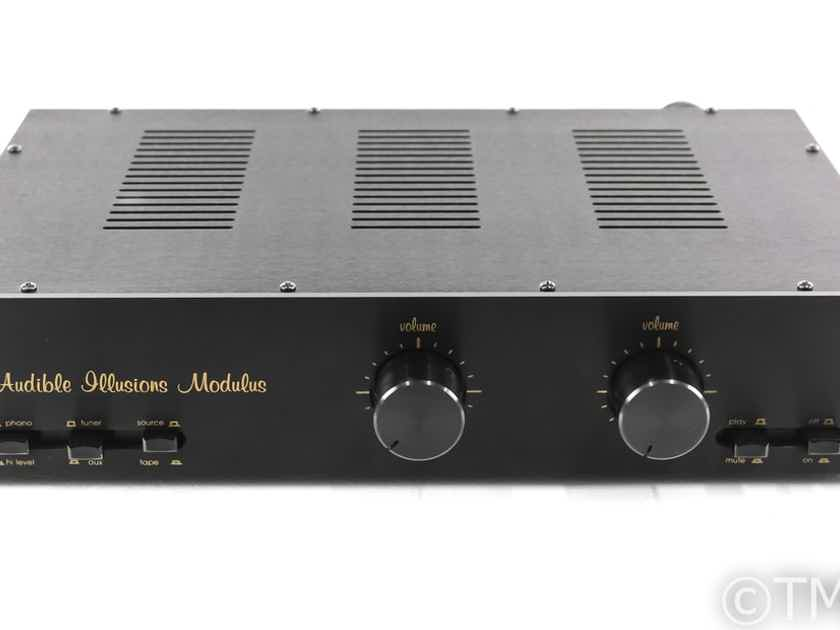 Audible Illusions Modulus 2B Vintage Stereo Tube Preamplifier; IIB; MM Phono (29017)