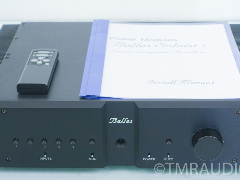 Belles Audio Soloist 1 Integrated Amplifier (7890)