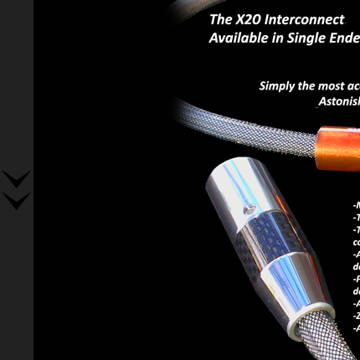 CH ACOUSTIC X20 BALANCED INTERCONNECT
