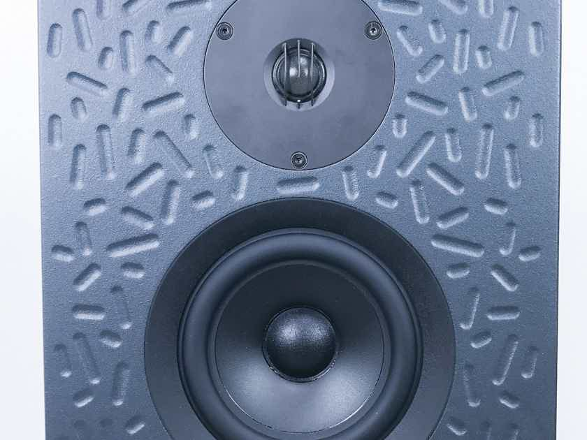 Linn  Keltik Floorstanding Speakers;  Black Pair; Upgraded Kustone Bases (3061)