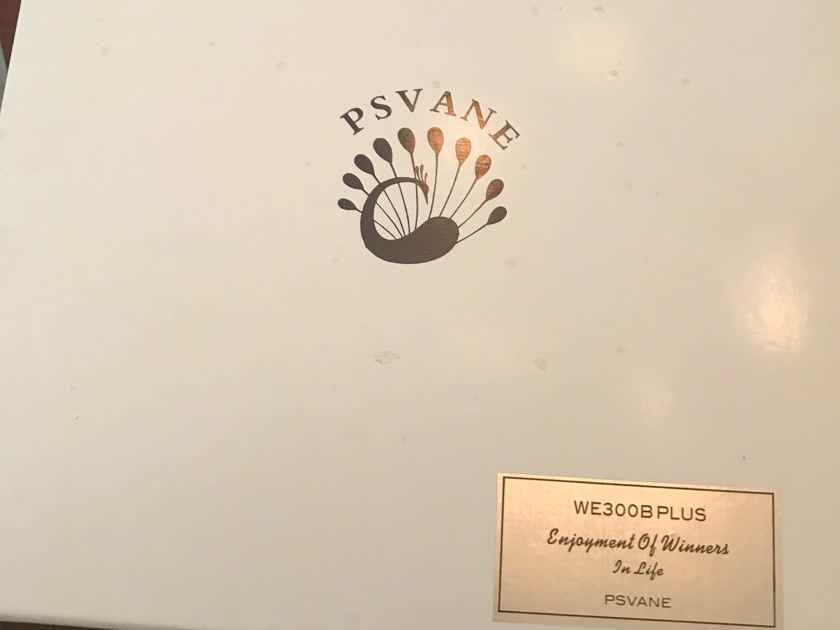 Psvane WE300B Replica 1:1 Western Electric 300B Pair Excellent condition