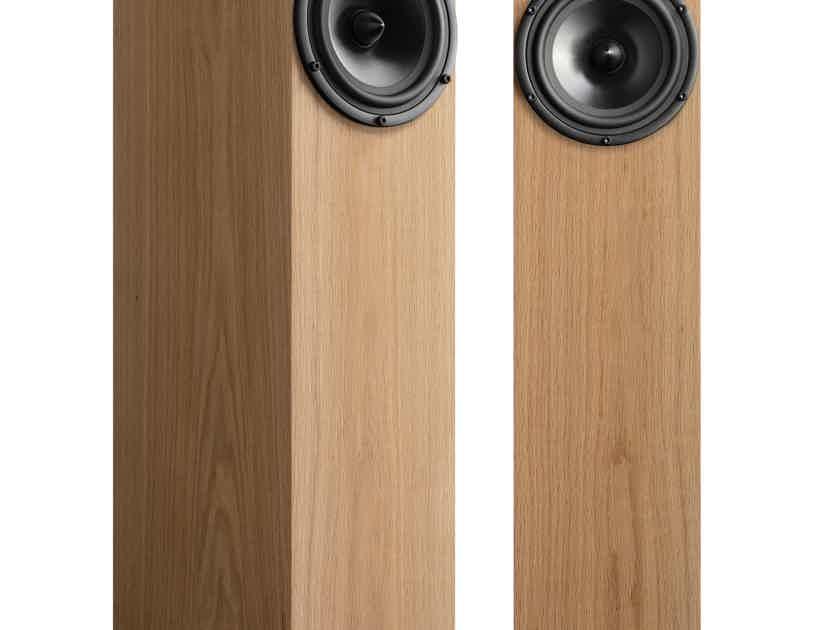 Spendor A7 Floor Stand Speaker - Natural Oak - FACTORY SEALED/WARRANTY!