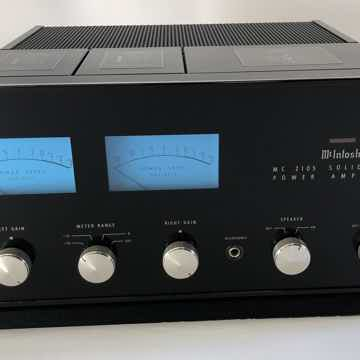McIntosh MC2105 Solid State Vintage Amplifier - UPGRADE...