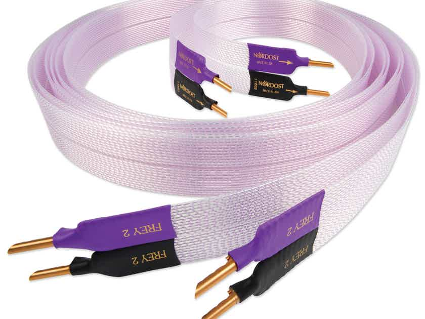 Nordost FREY 2 NORSE Trade in: Matched pair 2m shotgun Banana cable w/orig box