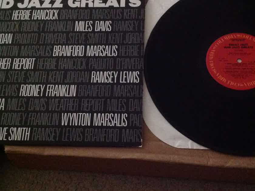 Various - Great Jazz And Jazz Greats Miles Davis Weather Report Herbie Hancock Vinyl LP NM