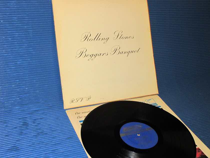 """THE ROLLING STONES - - """"Beggars Banquet"""" -  London 1968 rare!"""