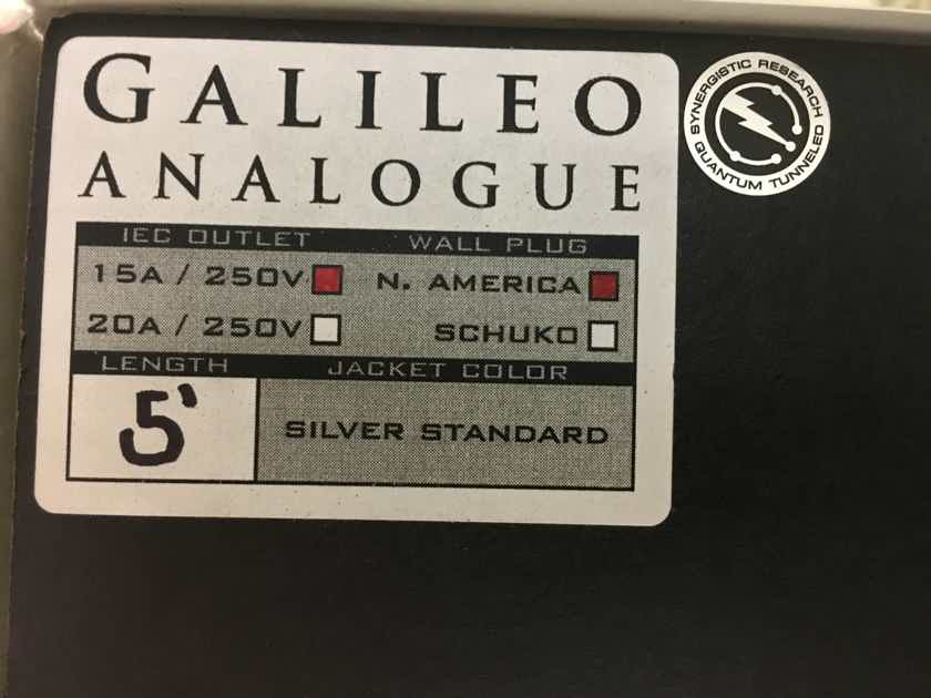 Synergistic Research Galileo LE, Analog  5ft, 15amp