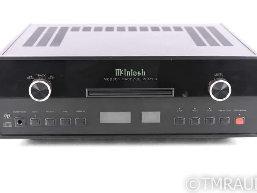 McIntosh MCD301 SACD / CD Player; MCD-301; Remote (20576)