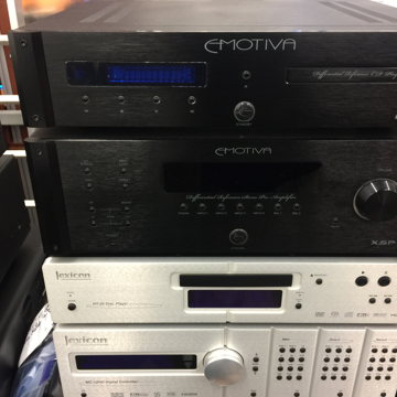 XSP-1 Balanced Pre & ERC-3 CD Player