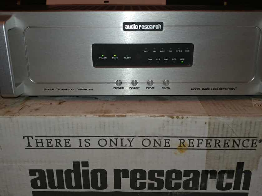 Audio Research Dac8 Da Converters Audiogon