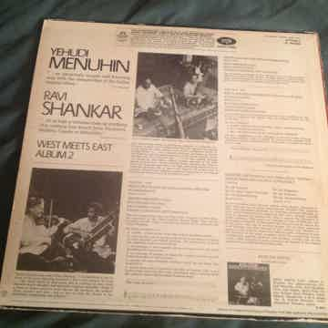 Yehudi Menuhin Ravi Shankar  West Meets East Album 2