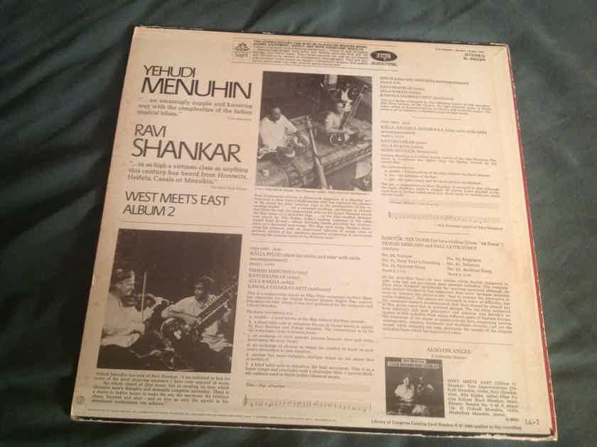 Yehudi Menuhin Ravi Shankar  West Meets East Album 2