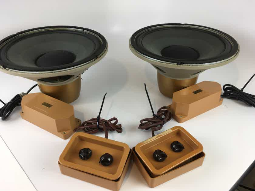 "Tannoy Gold 12"" Drivers Dual Concentric Drivers with Crossovers, Like New"