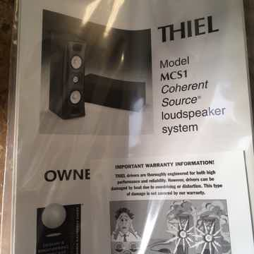 Thiel Audio MCS-1