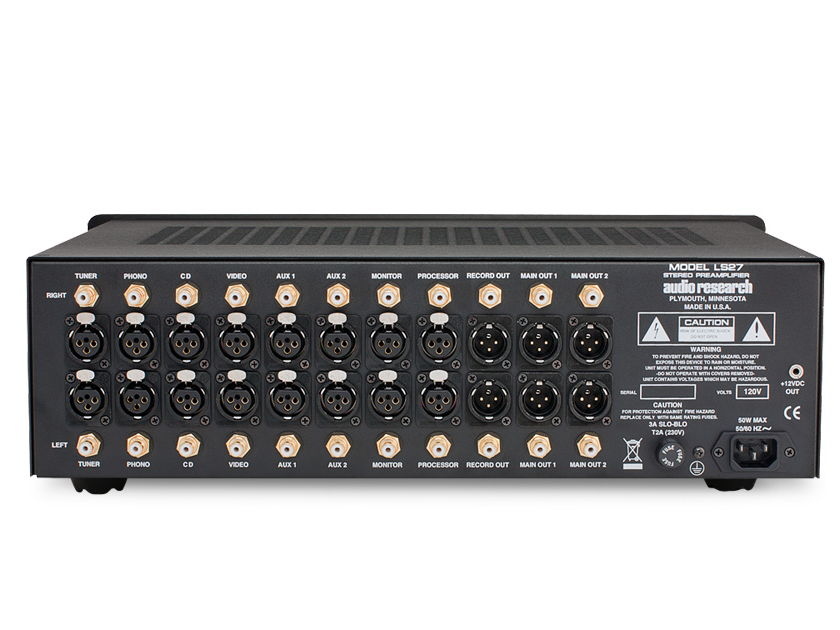 Audio Research LS-27 Linestage Preamplifier New-in-Box