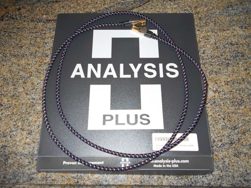 Analysis-Plus Purple Plus USB 1.5 meter A-type USB to B-type USB