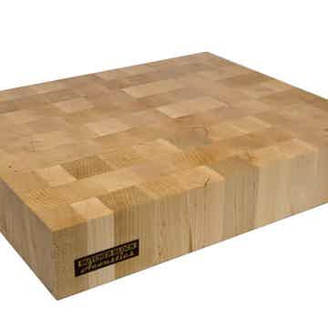 """Butcher Block Acoustics 18"""" X 15"""" X 3"""" Maple End-Grain Audio Platform"""