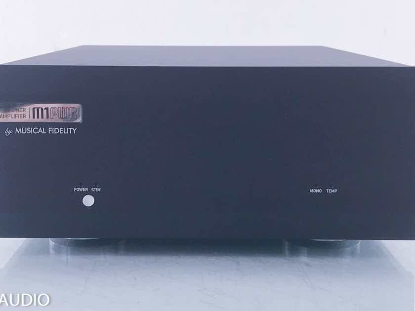 Musical Fidelity M1PWR Stereo Power Amplifier  (12001)