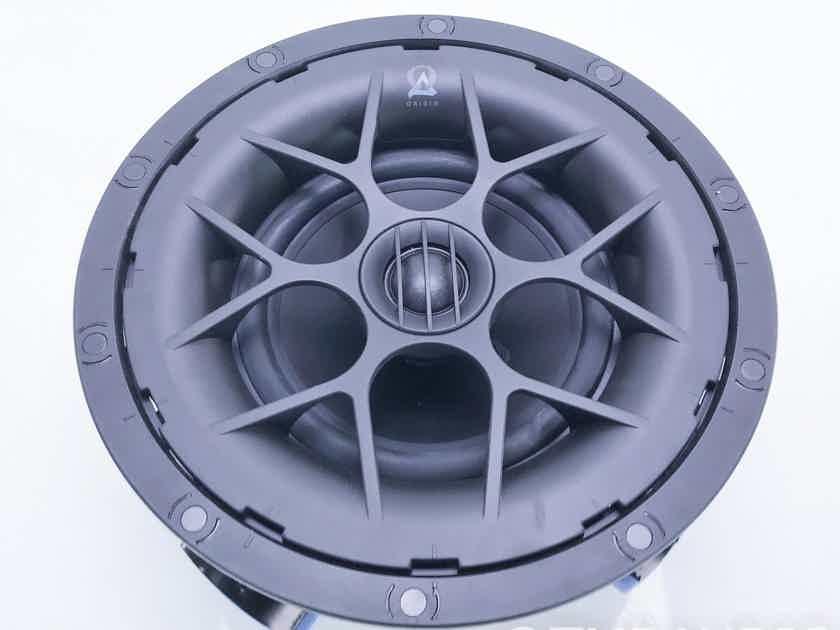 Origin Acoustics D61 In Ceiling Speaker; White Grill; D-61 (16418)