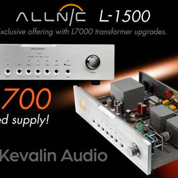 Special Offering - Allnic Audio L-1500 Line Stage Pream...