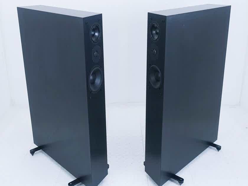 NHT Model 3.3 Floorstanding Speakers; Black Pair (17241)