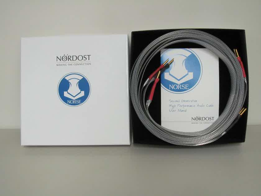 Nordost Tyr 2 Four meter speaker cables with Z-Plugs