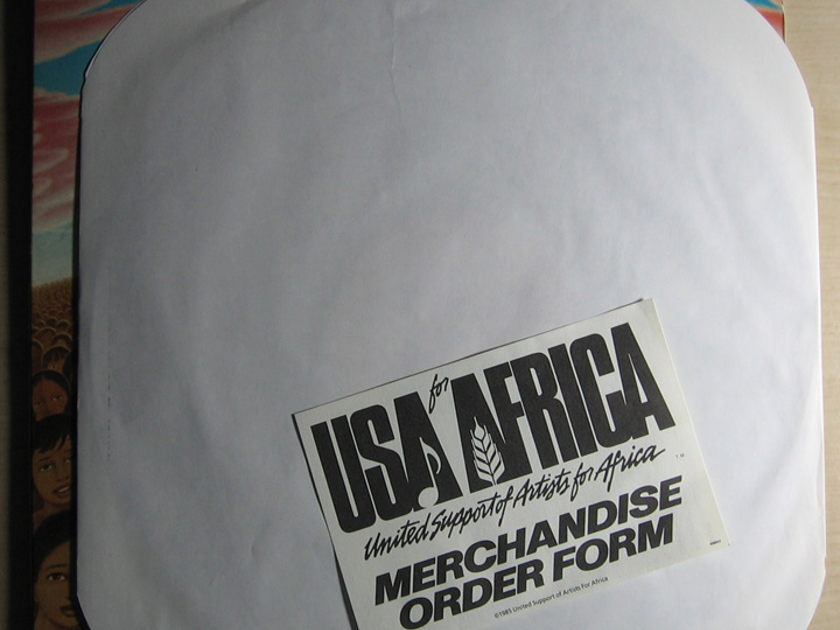 USA For Africa - We Are The World - Promo - 1985 Promo Columbia US2-05179