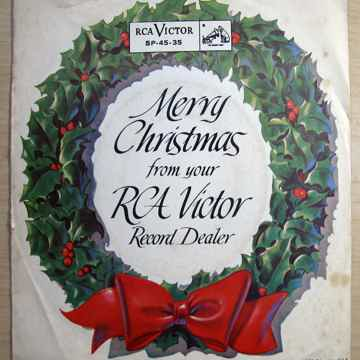 RCA RARE 1958 PROMO EP Merry Christmas From Your RCA Victor Record Dealer