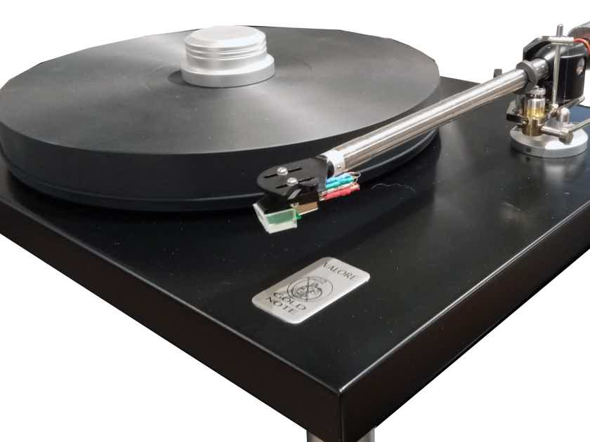 GOLD NOTE VALORE 425 Special Edition Turntable (w/AT95e cart) - NEW; Full Warranty; 68% Off – LAST ONE !