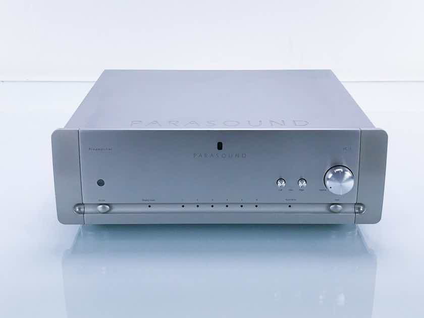 Parasound Halo JC2 Stereo Preamplifier; JC-2; Remote (17144)