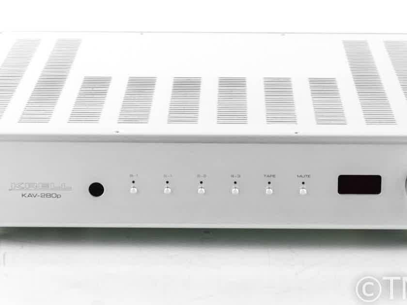 Krell KAV-280P Stereo Preamplifier; KAV280-P; Remote (22936)