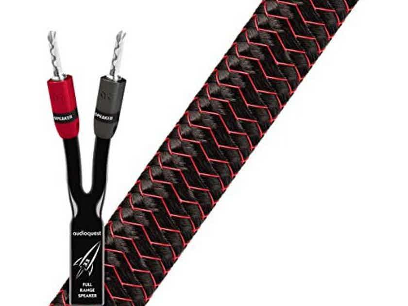 Audioquest Rocket 33 Speaker Cables; 15ft Pair (Open Box) (27879)