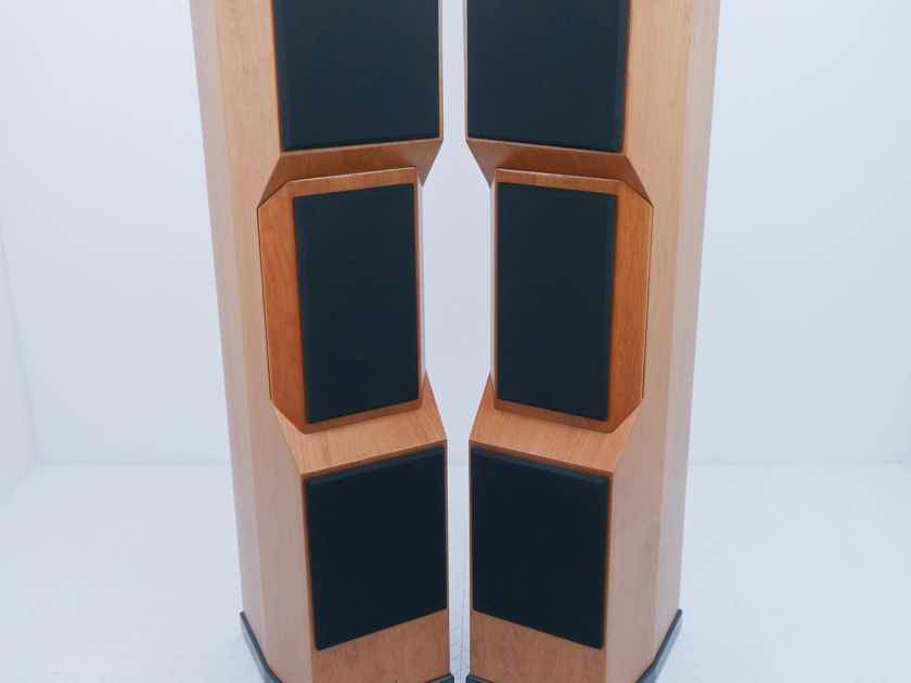 Tyler Acoustics D2X Floorstanding Speakers / Mastering Monitors; Cherry Pair (12129)