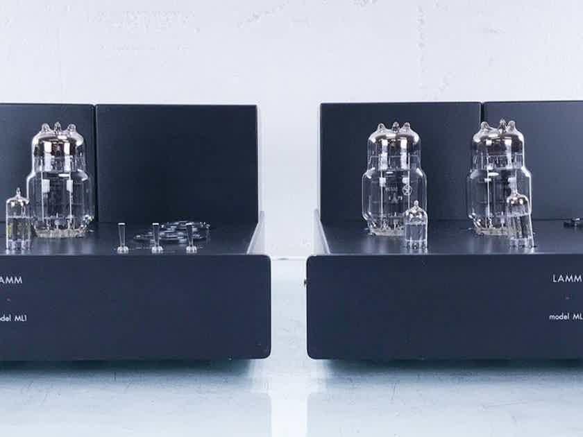 LAMM ML1 Mono Tube Power Amplifier; ML-1; Black Pair (15281)