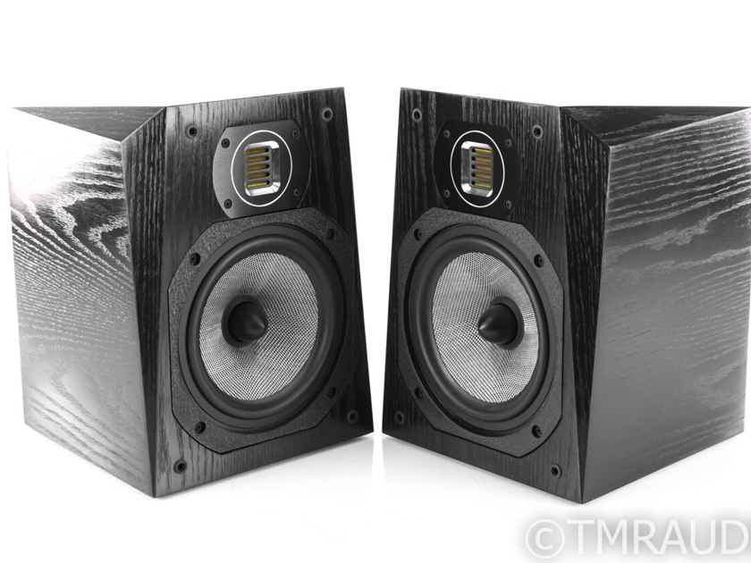 Legacy Studio HD Bookshelf Speakers; Black Oak Pair (22014)