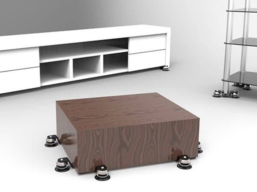 Townshend Audio  Seismic Isolation Corners S or F type for all HiFi Stands or Racks Isolate up to 400kg total load