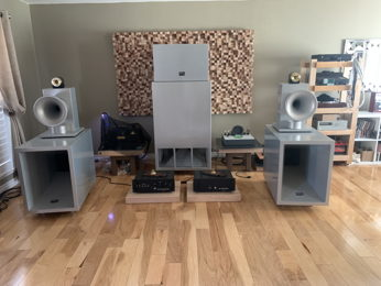 Edgar Horn Titan 2 Field Coils Ultimate Speakers