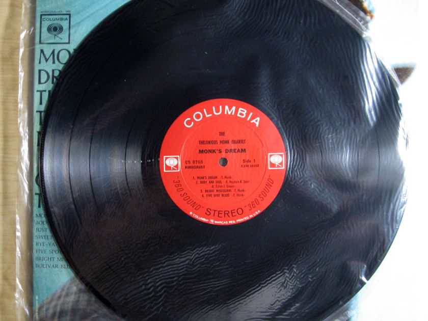 The Thelonious Monk Quartet - Monk's Dream - SEALED STEREO ORIGINAL 1963 CS 8765