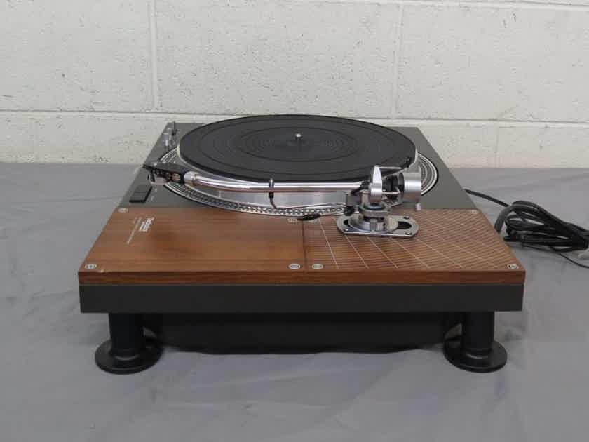 Vintage Technics SL-110 Direct Drive Turntable SME 3009 Tone Arm Stanton 681EEE