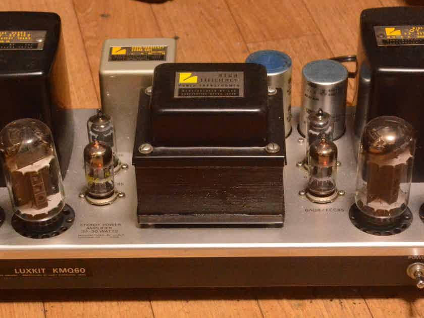 Luxman  MQ-60 stereo tube amplifier OY series output transformer * VG+++