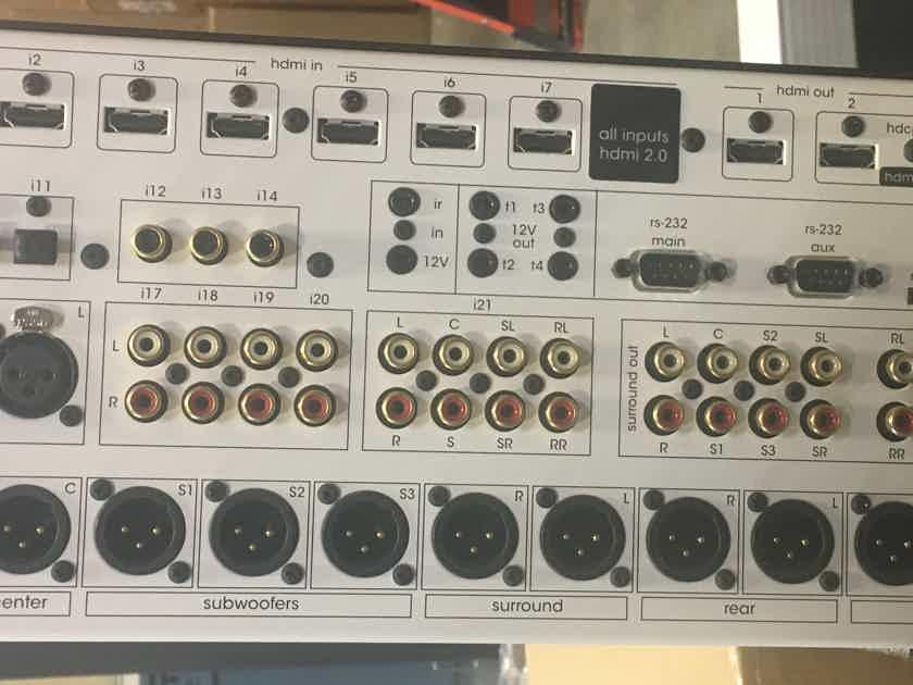 Acurus ACT4  20 channel immersive HD audio pre-amp processor