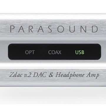 Parasound Zdac v.2 DAC / Headphone Amplifier